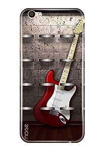 Noise Vivo V5 Designer Premium PolyCarbonate Printed Back Case / Cover for Vivo V5 / Music / Guitar Design - Noise