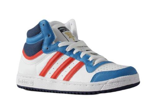 Adidas Top ten hi G51558, Baskets Mode Femme Noir, jaune, bleu et blanc