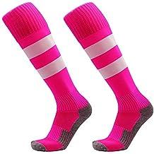 tingtin Calcetines de fútbol Calcetines Deportivos Altos Medias Calcetines Deportivos Calcetines Deportivos Calcetines de Running Transpirables