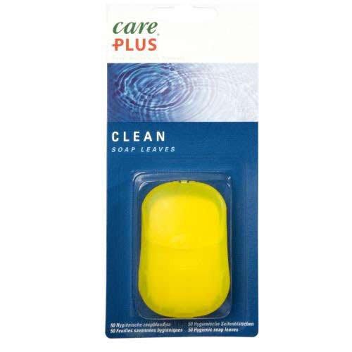 Care Plus Campingartikel Clean Soap Leaves 50 Pcs
