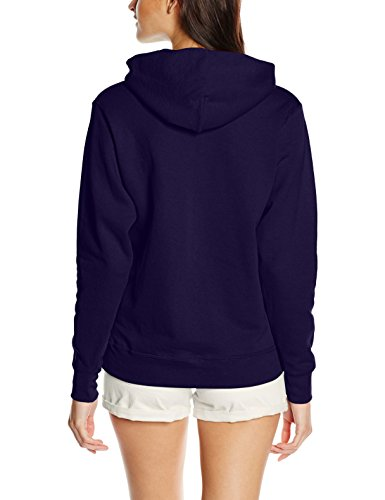 Fruit of the Loom Damen Pullover Lady-Fit Hoodie Violett (Violett)