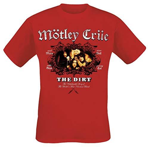 Mötley Crüe The Dirt T-Shirt rot M -