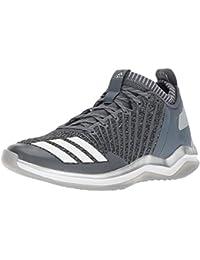 best website 543d6 5828b adidas Mens Freak X Carbon Mid Baseball Shoe, OnixWhiteMetallic Silver,