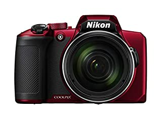 "Nikon COOLPIX B600 Cámara Puente 16 MP CMOS 4608 x 3456 Pixeles 1/2.3"" Negro, Rojo - Cámara Digital (16 MP, 4608 x 3456 Pixeles, CMOS, 60x, Full HD, Negro, Rojo) (B07MZG43R9) 