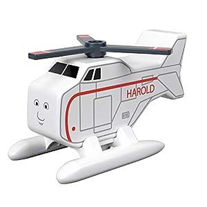 Mattel Thomas & Friends Madera Harold, avión de Juguete niños +2 años, Multicolor GGG43
