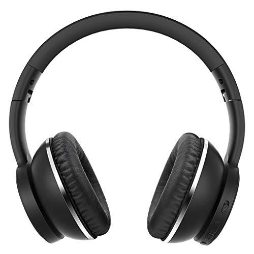 Preisvergleich Produktbild Headset Bluetooth Headset,  Wireless Sport Headset Noise Cancelling Kopfhörer Musik Anruf Kopfhörer,  schwarz