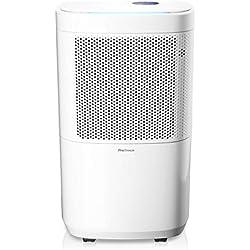 Pro Breeze™ 12L Luftentfeuchter mit Kompressor - tragbar + elektrisch, 4 Betriebsarten, Digitalanzeige, Ablaufschlauch, Wäschetrocknung, Timer - Gegen Feuchtigkeit, Schimmel im Haus, Keller, Garage