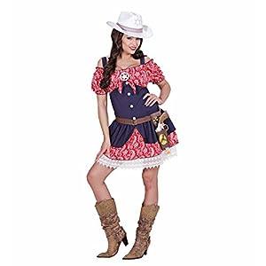 WIDMANN wid0631d?Disfraz para adulto Cowgirl, multicolor, XL