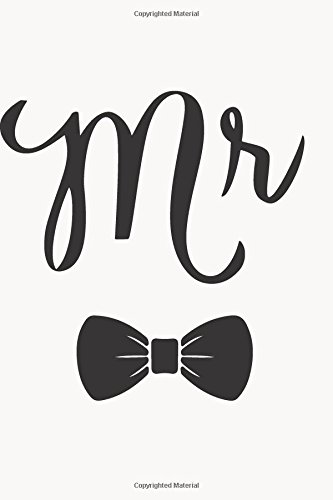 Mr Journal: White Bow Tie, Journal, Notebook, Diary, 6