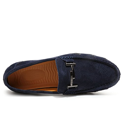 Miyoopark ,  Herren Sneaker Low-Tops Suede-Dark Blue