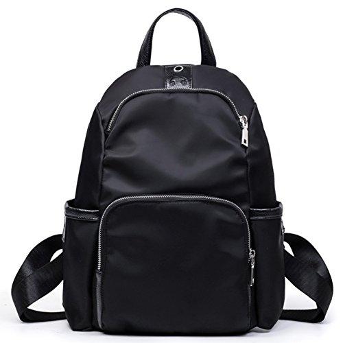 Ladies shoulder bags,scuola borse,borse oxford,borse da viaggio per il tempo libero-nero nero