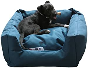 Bronte Glen Trojan Panier confortable et imperméable pour chien Taille M (Bleu)