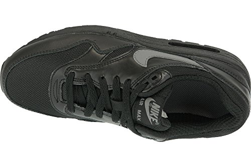 Nike Air Max 1 (Gs), Nike Air Max 1 GS black cool grey white 555766 043 homme Black Black