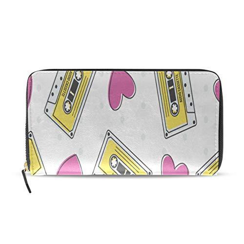 Lange Pass Kupplung Geldbörsen Reißverschluss Brieftasche Fall Handtasche Geld Veranstalter Tasche Kreditkarteninhaber Für Dame Frauen Mädchen Männer Reise Geschenk ()