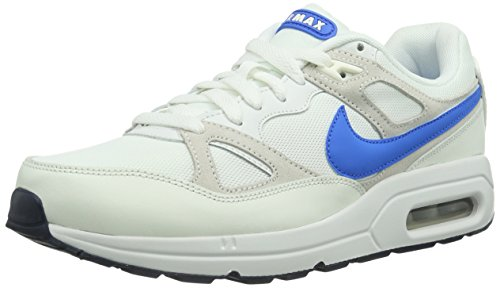 NIKE Air Max Span Txt, Baskets mode homme Blanc (Summit White/Pht Bl-Sl)