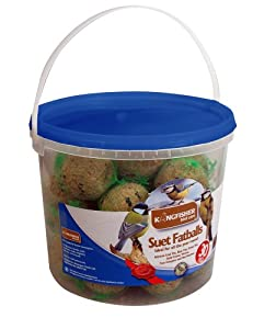 Kingfisher BF30FB Tub of Fat Balls (Pack of 30) by Bonnington Plastics Ltd