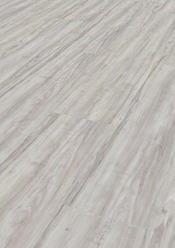 1 Paket (3,40 m²) Vinylboden Galant zum Kleben - Bianco
