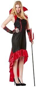 César - Disfraz de vampiresa para mujer, talla 40 (B830-005)