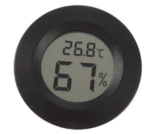 Galleria fotografica Tutoy Lcd Mini Celsius Termometro Digitale Igrometro Meter