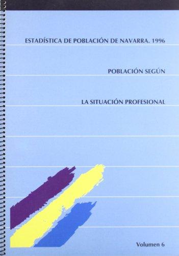 Estadistica de poblacion de Navarra 1996