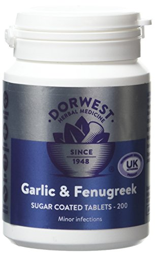 dorwest-herbs-garlic-and-fenugreek-tablets-for-dogs-and-cats-200-tablets