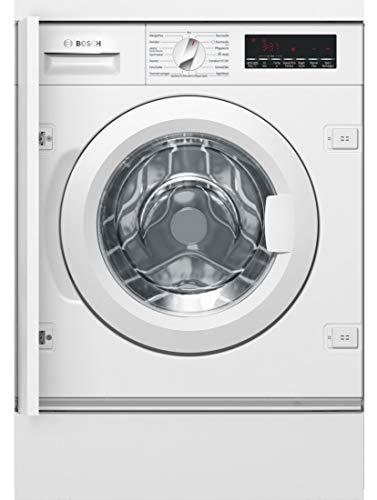 Bosch WIW28440 Serie 8 Einbauwaschmaschine Frontlader / A+++ / 137 kWh/Jahr / 1400 UpM / 8 kg / weiß / EcoSilence Drive / Trommelreinigung