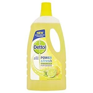 Puissance De Dettol Et Du Citron (1L) :Dettol nettoyant multi-usages Power Fresh Éclat de citron