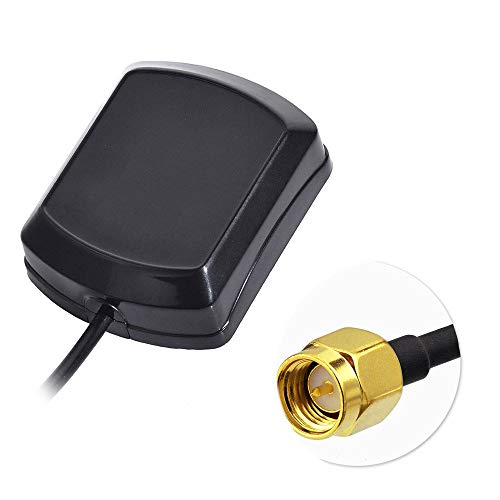 Bingfu Antena GPS Coche Antena Adaptador SMA Macho