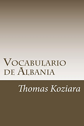 Vocabulario de Albania por Thomas Koziara