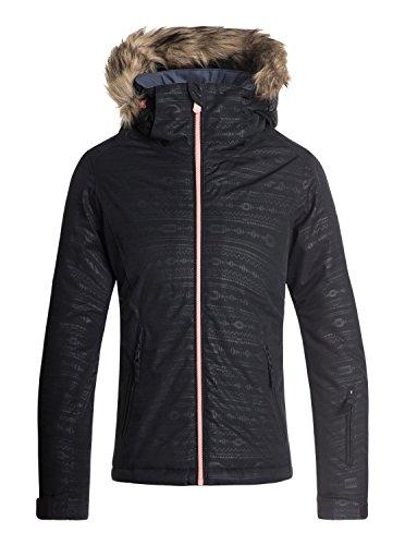 Roxy Jet Ski Embossed Abbigliamento sportivo Giacca da Neve Bambina ERGTJ03056 Abbigliamento da esterno