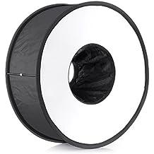 "Neewer® 18""/45cm redondo Universal plegable magnético anillo difusor de flash suave caja para Canon, Nikon, Yongnuo, Sony (versión simplificada)"