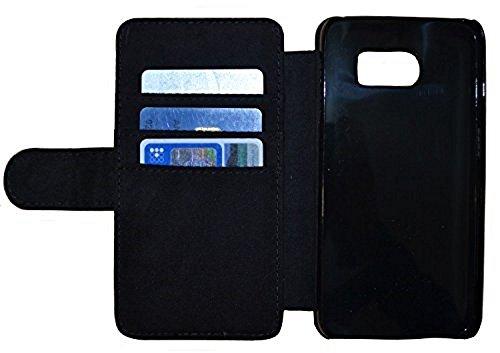 FioMi Flip Cover Schutz Hülle Handy Tasche Etui Case für (Apple iPhone 5 / 5s, 749 Fußball in Flammen Feuer Rot Schwarz) 754 Abstract Schwarz Grün
