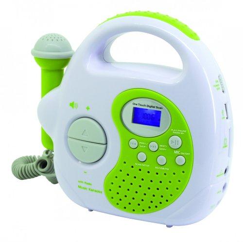 Soundmaster KR36GR - Radio (Portátil, Digital, FM, Azul, 19,2 cm, 6 cm)...