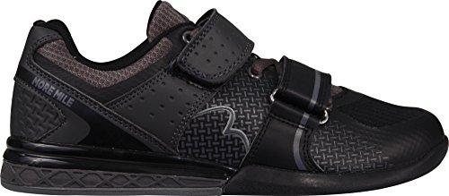 More Mile Super Lift 3Crossfit/Haltérophilie Chaussures–Noir