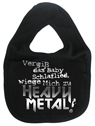 Dirty Fingers, Vergiß SchlaFlied, Wiege Mich zu Heavy Metal, Baby Lätzchen, Schwarz - Eisen-baby-wiege