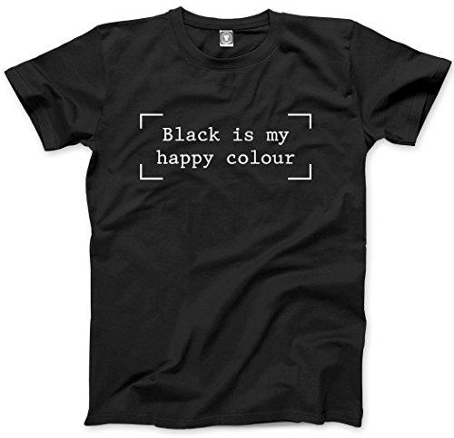 Nero È My Happy colore moda Hipster Moody-Maglietta per bambini Black Età 12/13-36 cm