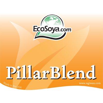 Eco Soy Wax Flakes 10KG Pillar Blend