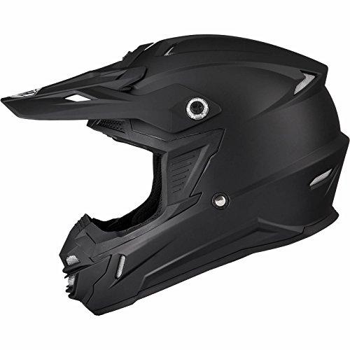 THH TX-15 Plain Motocross Helmet L Matt Black