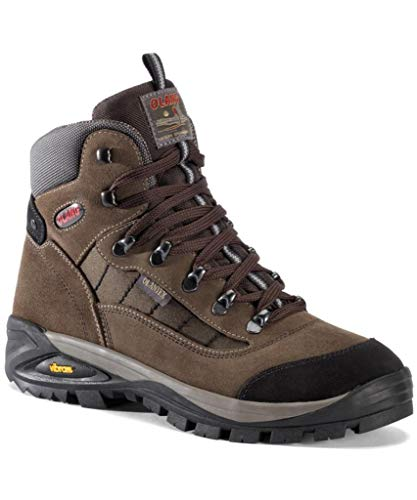 Olang Tarvisio Tex-Scarpe da Trekking & Hiking Boot Safari, Marrone (Safari), 44