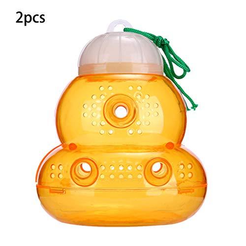 Yanhonin 2Pcs Trampas Colgantes para Avispas para Jardín, Esencial para El Verano, Control De Plagas, Trampa De Abeja