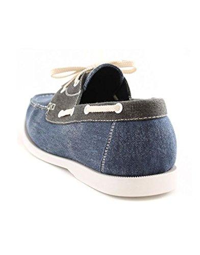 Galax - Chaussure bateau homme Galax GH 066 Bleu Bleu