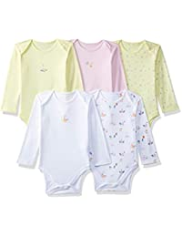 Mothercare Baby Girls' Bodysuit (Pack of 5)