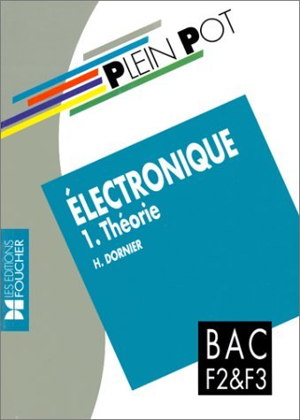 Electronique : Bac F2 et F3, formation continue