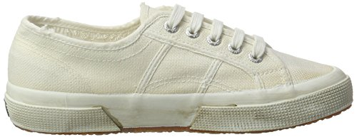 Superga 2750 COTUSTONEWASH, Baskets Mixte Adulte, Grau (Lt. Grey) Weiß (white)