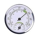 siwetg a la Pared fijado termómetro de Temperatura y higrómetro para Sauna de hogar