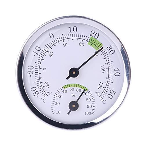 Basik - Termómetro e higrómetro para sauna fijado a la pared