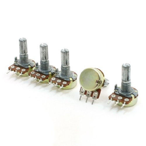 5-pezzi-200k-ohm-3-pin-pentole-6mm-dividere-i-potenziometri-monogiro