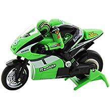XciteRC 34000200 - control remoto de carreras de motos de RC Mini Bike RTR 2.4 GHz, verde