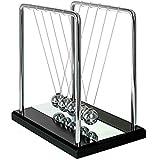 Pendule de Newton, Ailiebhaus Balancier de Newton Classique Decoration Bureau (Miroir)