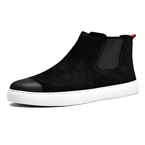 moda maschile, stivali e scarpe breve uomini chelsea boots b